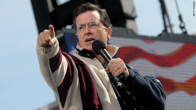 Stephen Colbert is 2010's most retweeted celeb