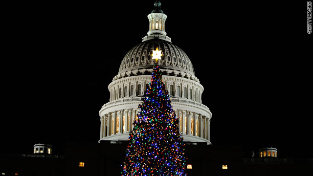 Senators argue over Christmas