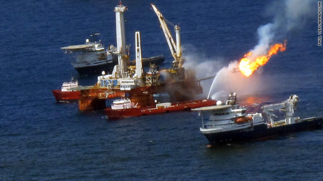 Justice Department files suit over Deepwater Horizon oil disaster