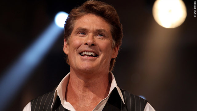David Hasselhoff replacing Piers Morgan on 'Britain's Got Talent'