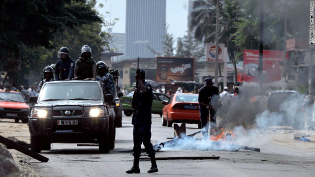 U.N. leader warns over 'worrying turn' in Ivory Coast