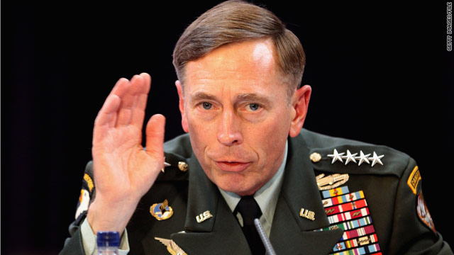 Petraeus tells senators he wanted the CIA job