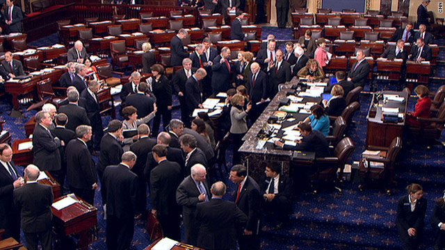 Senate passes controversial $858 billion tax cut package