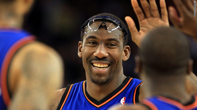SI.com: Stoudemire, renewed Knicks take on Celtics; Manning and Favre's record