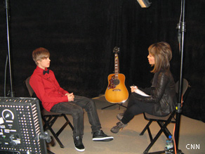 Alina Cho talks with Justin Bieber about his fundraising efforts.