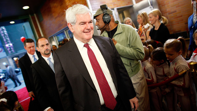 Gingrich to make Iowa stop