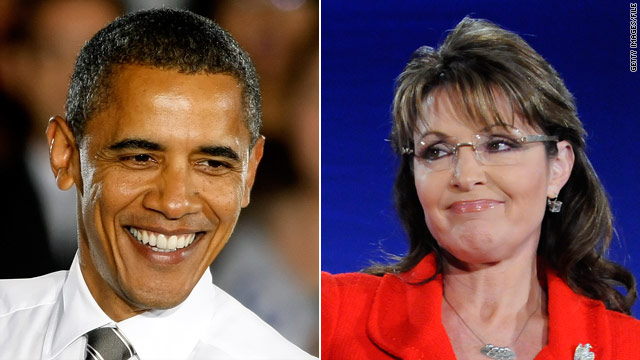 CNN 2012 Poll: Obama and Palin going in different directions?