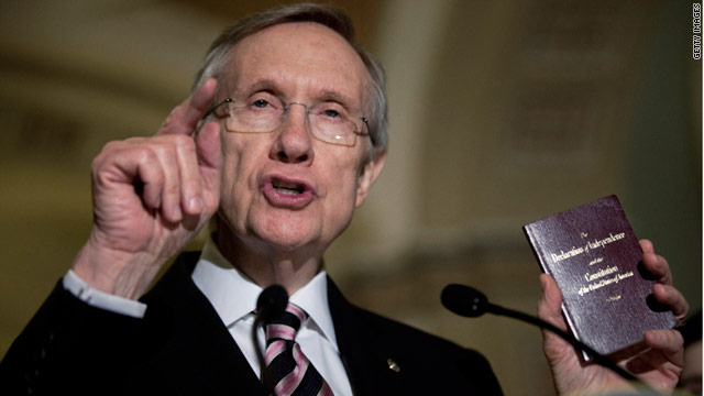 Reid defends earmarks, blasts some Republicans as hypocrites