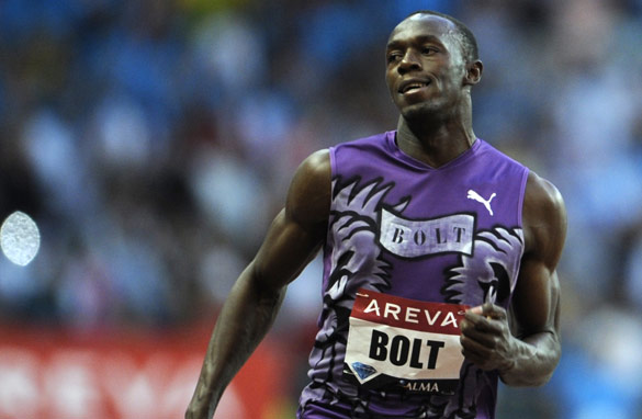 After a quiet 2010, Usain Bolt will be seeking to reassert his dominance next year. (AFP/Getty Images)