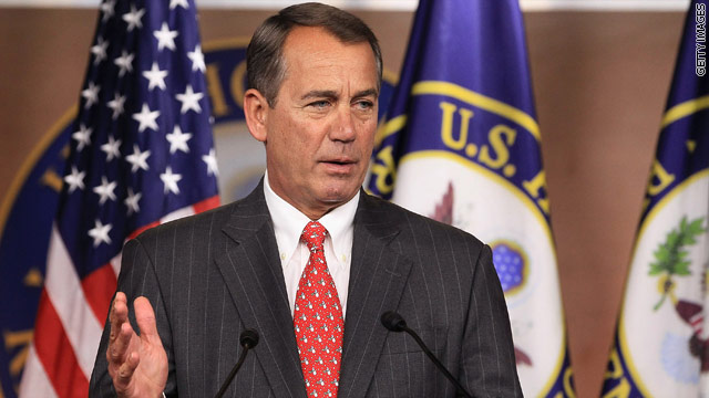 Boehner defends tax deal, responds to Palin