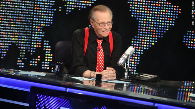 End of an era: CNN's Larry King hangs up suspenders