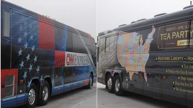 CNN and Tea Party Express to host first-of-its-kind Tea Party presidential primary debate