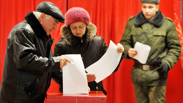 Protests erupt after Belarus election