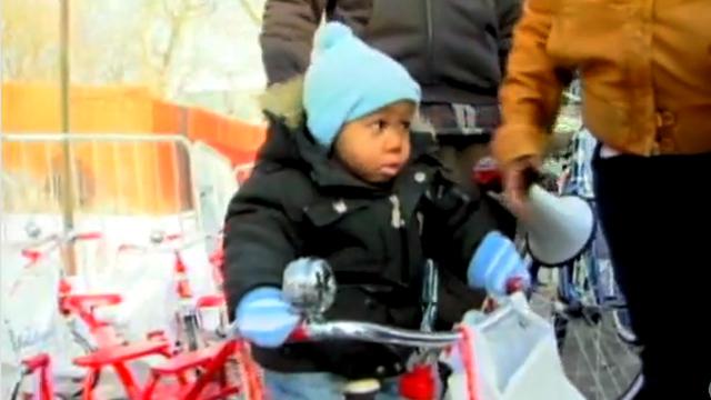 Gotta Watch: Bike giveaway; sliding cars; return theft; Morning Cup of Conan redux