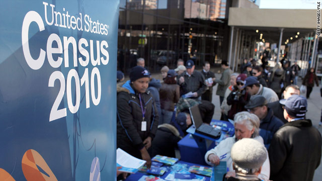 Census numbers to help determine which party controls Congress and the White House