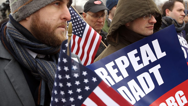 Repealing &#039;don&#039;t ask, don&#039;t tell&#039;: the next steps