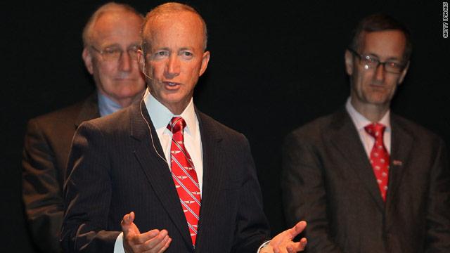 Daniels taps adviser for Indiana GOP post