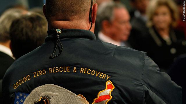 9/11 first responders urge passage of health bill