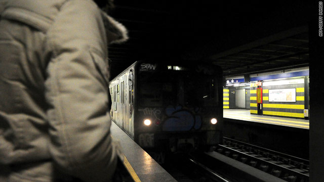 Bomb found on train in Rome, official says