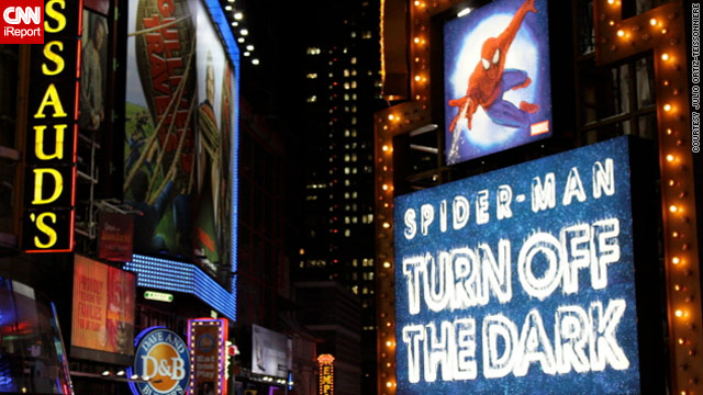 Third actor injured playing Spider-Man in musical