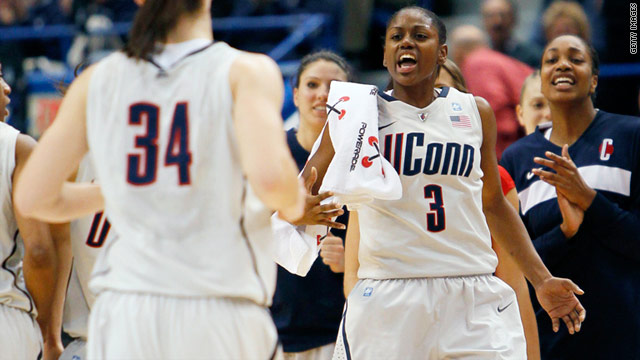 UConn women get Division I record 89th straight win