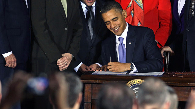 Obama signs repeal of 'don't ask, don't tell'