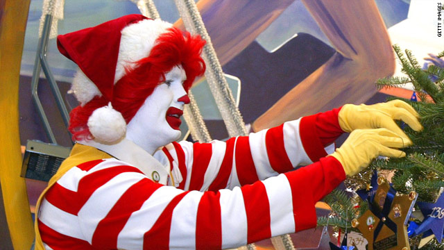 Ronald is grinchy about Japan's Kentucky-fried Christmas