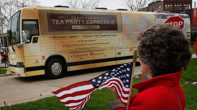 CNN Poll: How Americans view the Tea Party movement