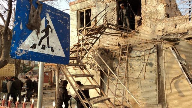 5 dead in Afghan attacks, airstrike