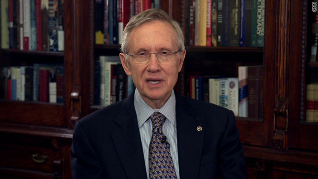 Reid raises stakes for Congress