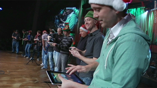 Gotta Watch: iBand Christmas; one-man town; flood takes home; race car crash
