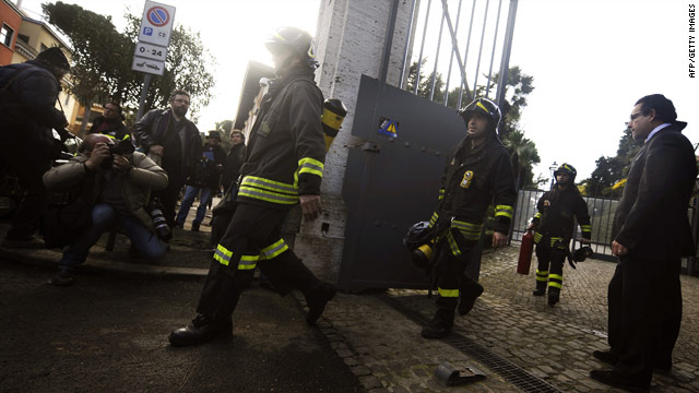 Two embassies hit by blasts in Rome