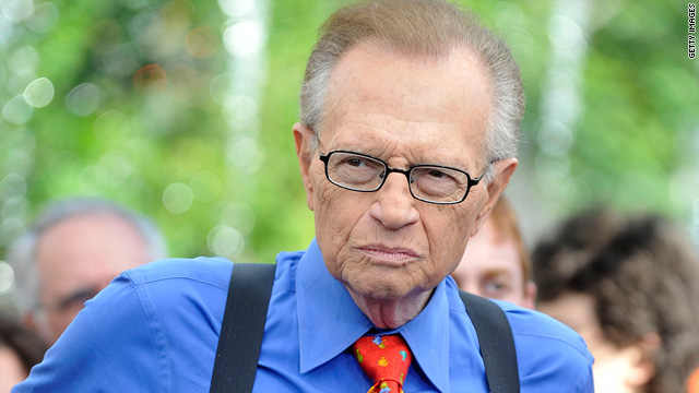 Larry King: My questions weren't softballs