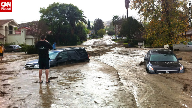 Soggy southern California looks for break in the weather