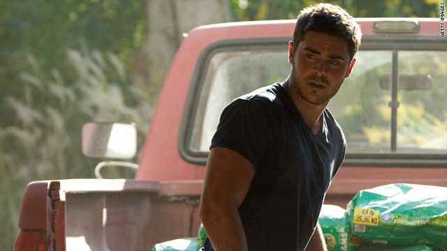 Zac Efron shaves his head for 'The Lucky One'