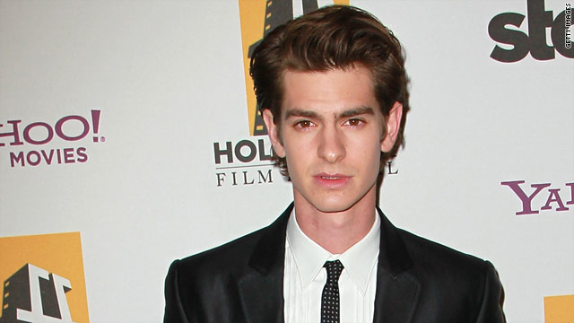 Andrew Garfield feels lucky to wear spandex