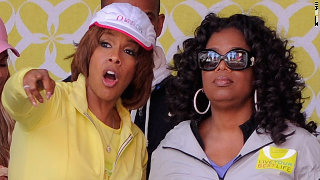 Gayle King talks Oprah, lesbian rumors