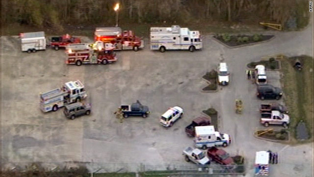 Two injured in Texas plant explosion