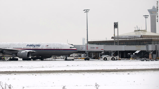 Paris airport terminal evacuated because of snow on roof