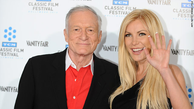 Playboy&#039;s Hugh Hefner engaged to 24-year-old former playmate