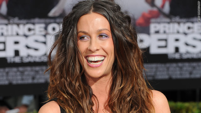 Alanis Morissette welcomes a son