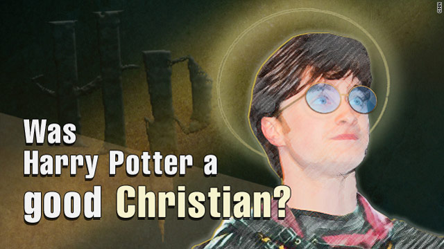 Harry Potter was a good Christian?