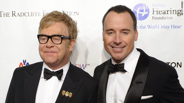 Elton John, partner are parents of baby boy