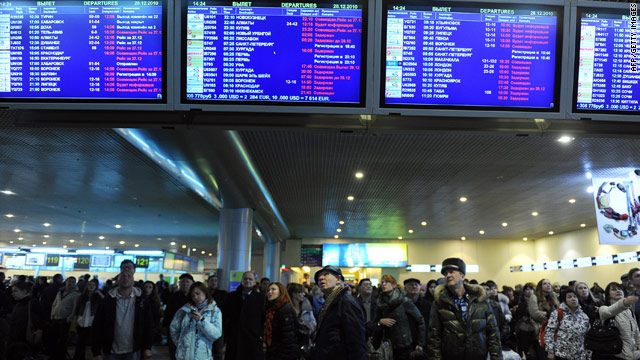 Passengers reportedly attack officials at Moscow's Sheremetyevo Airport