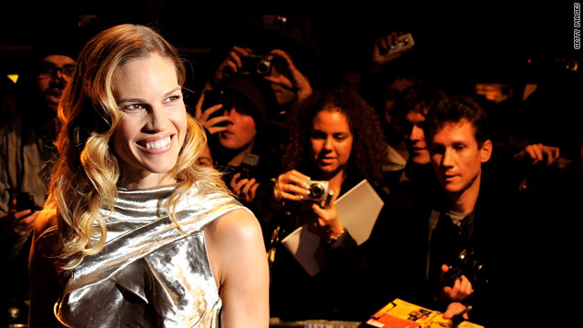 Hilary Swank launching a line of athletic apparel