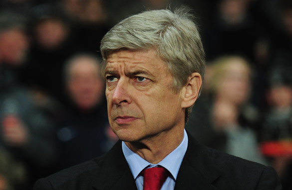 Arsene Wenger has won three English league titles with Arsenal, but none since 2004. (Getty Images)