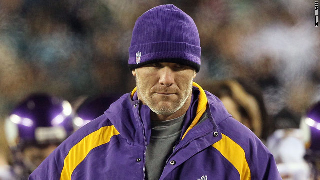 NFL fines Brett Favre $50,000