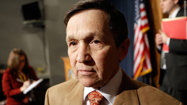 Kucinich worries his district will be eliminated