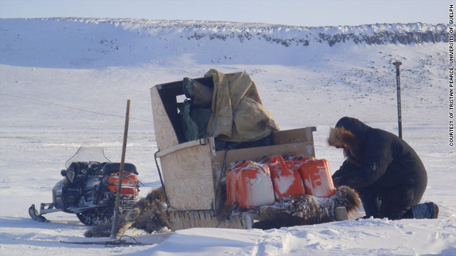 Ice shift alters Inuit diets