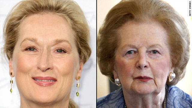 Meryl Streep to play Margaret Thatcher
